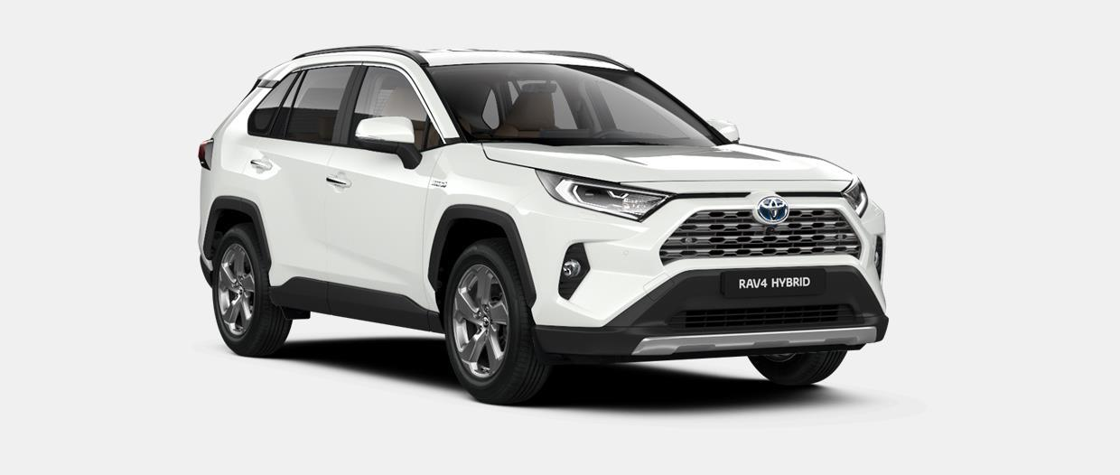 RAV4 SUV Premium Plus 2.5 liter Hybride e-CVT (Electronically controlled Continuously Variable Transmission)