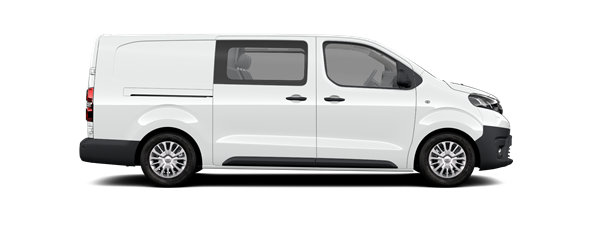 PROACE Comfort van Long Double cabine 5p.