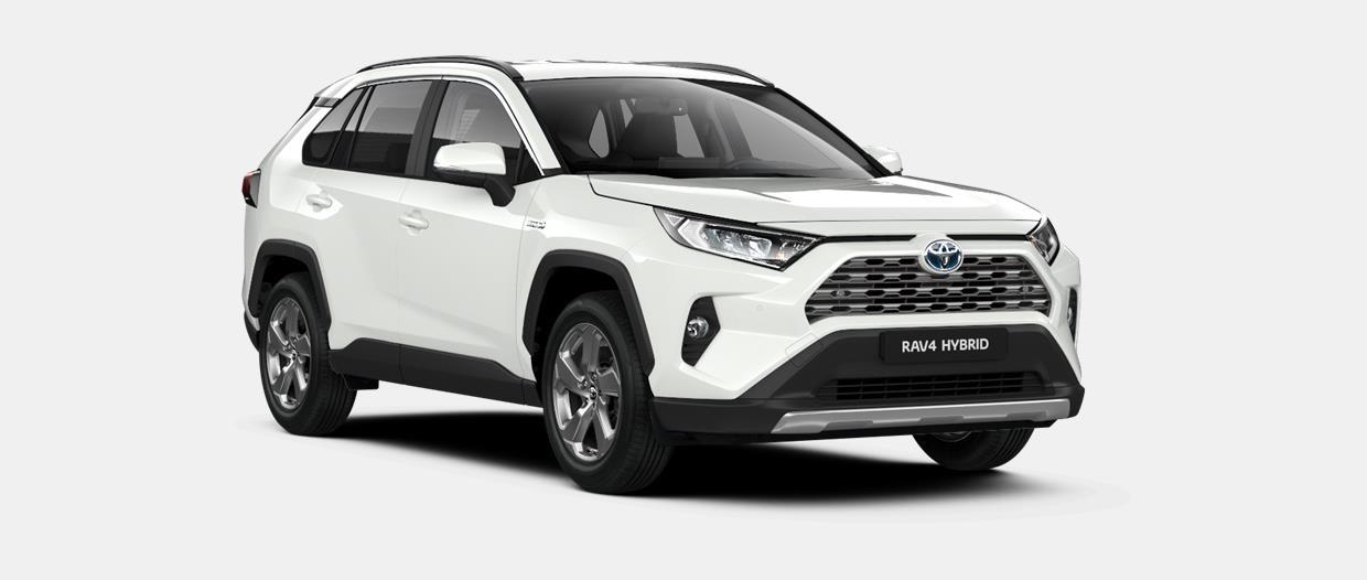 RAV4 SUV Dynamic Plus 2.5 liter Hybride e-CVT (Electronically controlled Continuously Variable Transmission)
