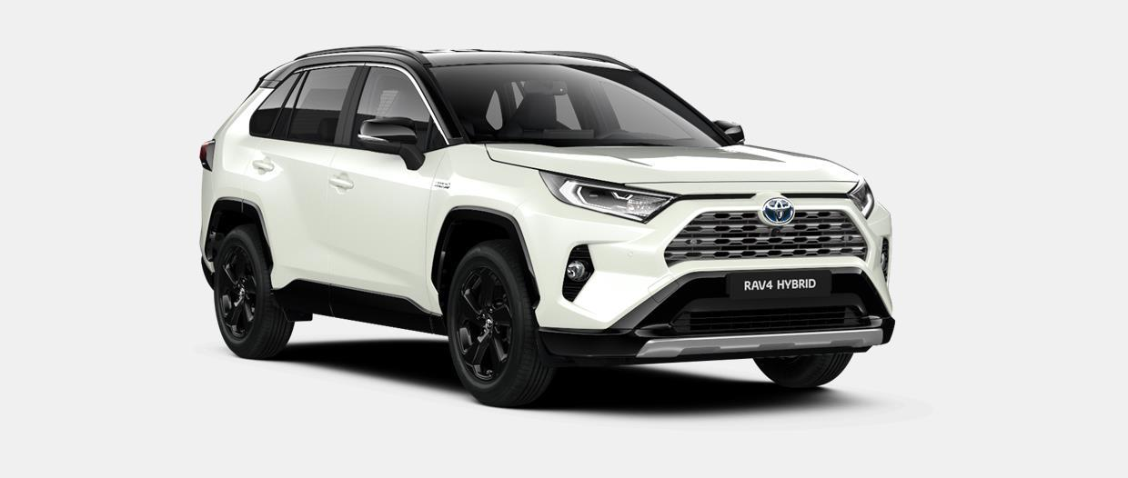RAV4 SUV Style Plus 2.5 liter Hybride e-CVT (Electronically controlled Continuously Variable Transmission)