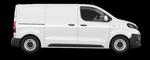 Proace Electric Comfort L1 verblecht 4-türig