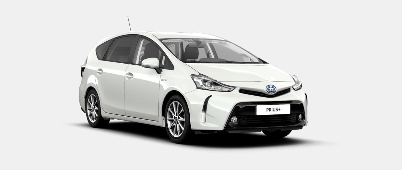 Prius+ 5-Türer Comfort Hybrid (Benzin- u. Elektromotor) 100kW (136PS) stufenloses Automatikgetriebe