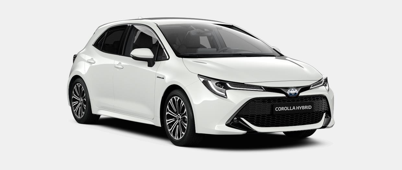 Corolla Berline Design Hybride 1.8L (122ch) Transmission variable en continu à gestion électronique (2WD)