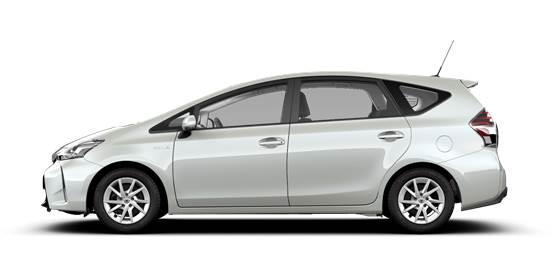 toyota prius le monospace hybride 7 places. Black Bedroom Furniture Sets. Home Design Ideas