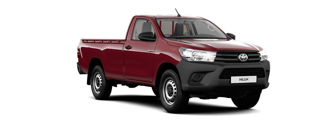 Hilux Jednostruka kabina (Single Cab, 2 vrata) Country 2,4 D-4D dizel 150 KS 6 stupanjski ručni mjenjač