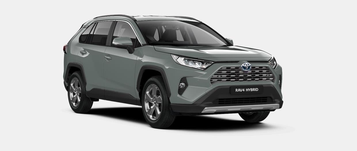 RAV4 SUV 5 Doors  Sol 2.5l Hybrid Dynamic Force (FWD/218 hp) Electronically controlled Continuously Variable Transmission