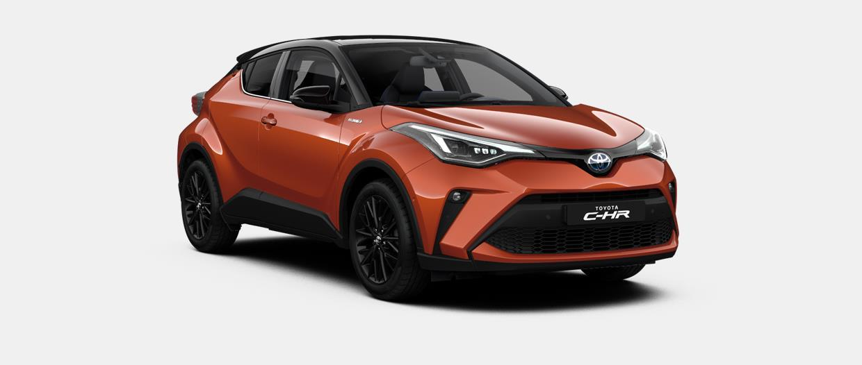 Toyota C-HR 5 דלתות ארוך LAUNCH EDITION 2ZR-FXE - היברידי 1.8 ליטר Continuously Variable Transmission