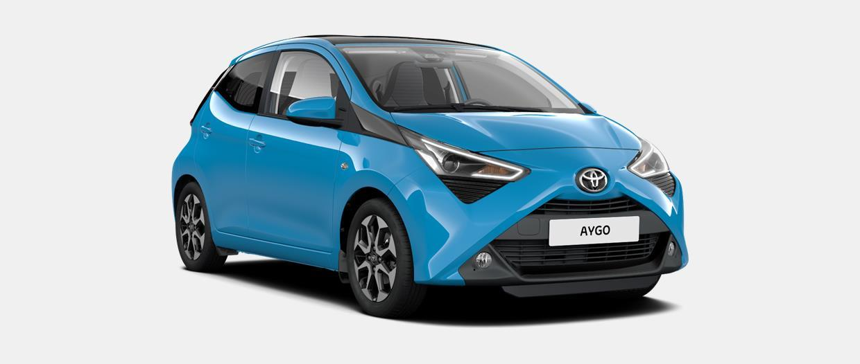AYGO Connect 5 Porte x-wave 1.0 VVT-i (72CV) 5 M/T