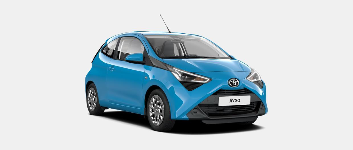AYGO Connect 3 Porte x-cool 1.0 VVT-i (72CV) 5 M/T