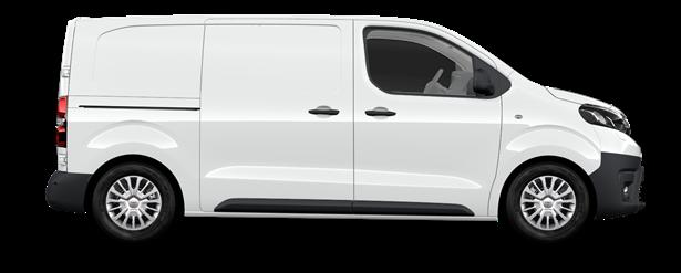 PROACE Comfort - Van Medium 1 porte latérale (V04) Medium Van Tôlé