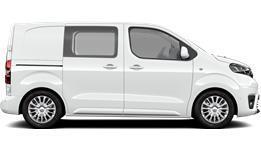 Compact Comfort Sidehengslet Varebil Compact (L0) 4 dørs