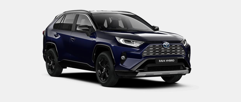 RAV4 SUV 5-drzwiowy Selection Pure Hybrid 2.5 Hybrid Dynamic Force 218 KM hybryda e-CVT