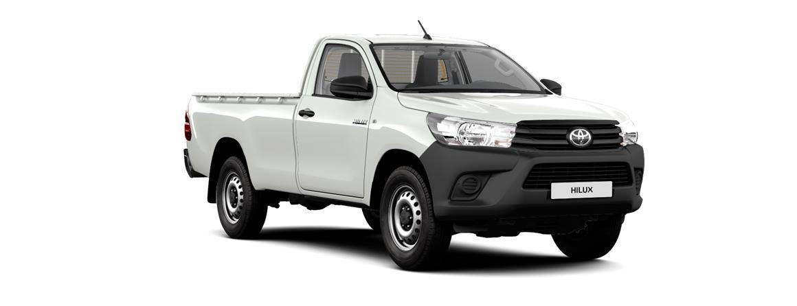 Hilux Single Cab (enojna kabina) Country 2.4 D-4D (110 kW/150 KM)  6-stopenjski ročni menjalnik