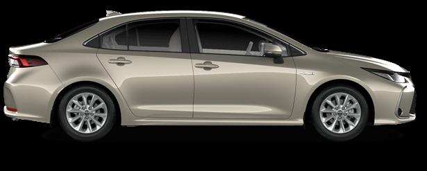 Corolla Hybrid Flame -